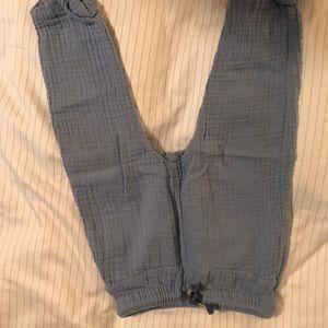 Baby boy linen like pants